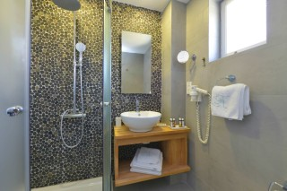 VIP suite niriedes hotel shower
