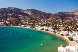 sifnos island niriedes hotel platys gialos