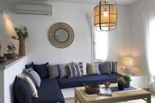nefeli guesthouse sifnos living room