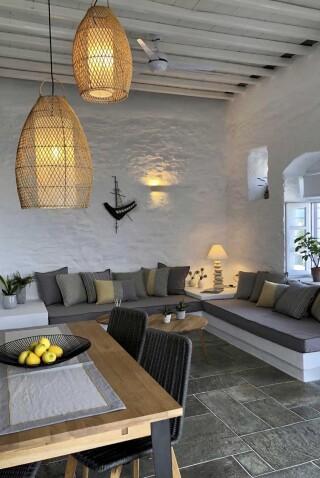 nireas house sifnos sitting room